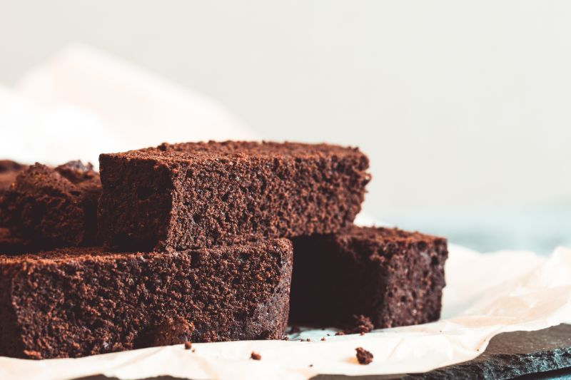 Torta negra de vino moscatel